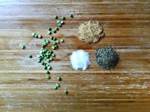 peas and seasoning